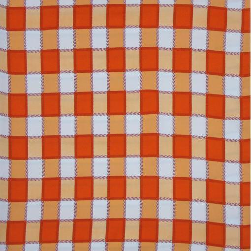 Tovaglia Check Arancio