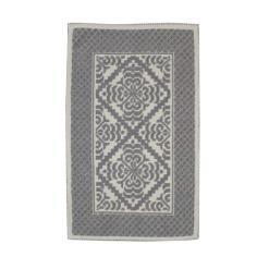 tappeto giglio grigio
