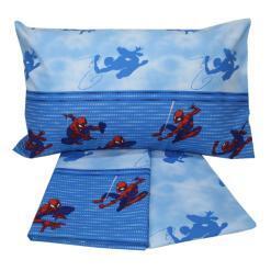 Completo letto spider-man in cotone