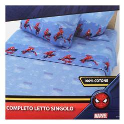 Completo letto spider-man in cotone SP02V