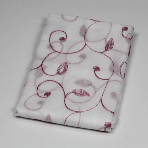 Tenda Hanover 140 x20 cm Mastro Bianco Rosa