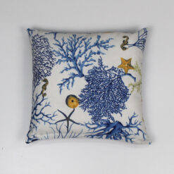 Cuscino Corallo DUEA 42 x 42 cm Blu