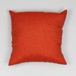 Cuscino Arredo Tinta Unita 40 x 40 cm Arancio